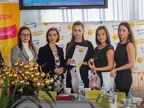 "The annual inter-university fest of the students' advertising works ""Gold Tomato"" took place at VSTU"