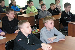 "The educational center of VSTU ""UNIT"" invites the pupils to the course"