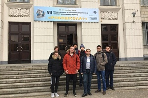 "The students of the High School of IT and Intellectual Systems of Kazan Federal University are taking part in the VII Youth School on Robotic Science, Artificial Intellect and Engineering Creativity ""RoboSchool+"""