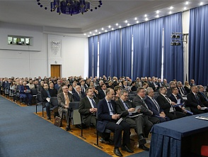 The meeting of the Academic Council of VSTU: the Rector's report