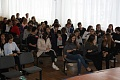 The representatives of Volzhsky Polytechnical Institute organized the lecture-press conference and the interdisciplinary business quest for the upper-form pupils of Bykovo city