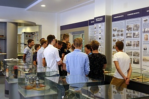 The first-year students of the Flagship University visited the History and Science Museum of VSTU