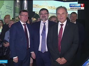 "The University Authorities, workers, teachers and students came to the opening of the interactive Museum ""Russia – My History"""