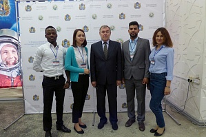 The representatives of VSTU took part in the VII Congress of the All-Russian Association of International Students of Russia