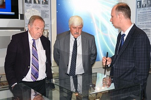 The President of Volga State University of Technology E.M. Romanov and Head of the Social Politics Department of the regular committee of the Common State S.V. Ignatiev visited VSTU