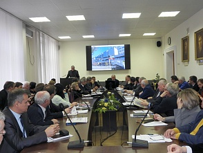 The meeting of the Rectorate at VSTU