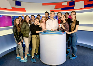Students of the flagship university will become journalists of municipal Volgograd TV