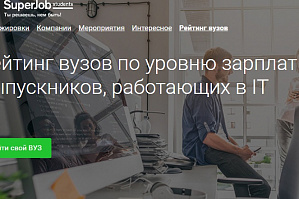 VSTU occupies presentable place in the ranking of Russian technical universities 2020 according to the service Superjob