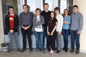 "Students of the department ""Software of automated systems"" of the flagship university launching promising project CityFlow on active life of the city"