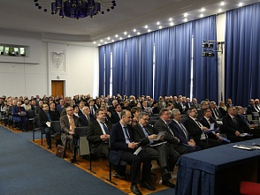 The meeting of the Academic Council of VSTU