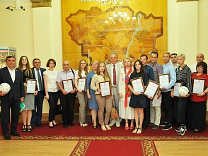"The presentation of the projects selected during the XV All-Russian Contest of the Young Authors' Projects ""My country - My Russia"""