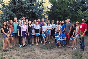 "The participants of the specialized shift of the regional camp ""Integral"" met the Deputy of Volgograd Regional Duma"