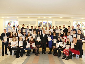 Exemplary students were honored at the flagship university on the International students' day