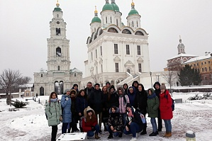 Trip to Astrakhan as a reward for good deeds
