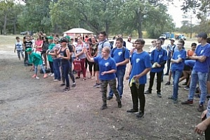 "The students from Sebryakovskiy Affiliate of VSTU took part in the Voluntary ecological and educational game ""Clean games - clean forest!"""